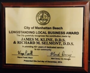 Award Manhattan Beach Dental Center